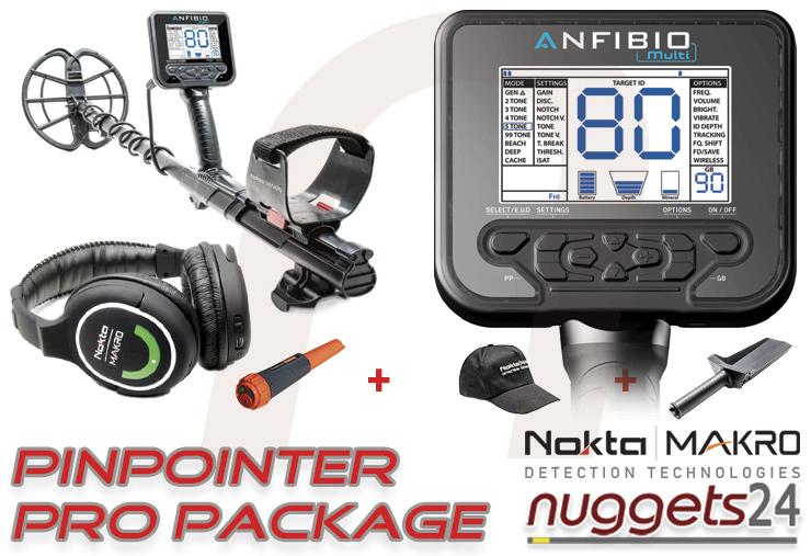 Anfibio Metalldetektor Metal Detector nuggets24com Metalldetektor Shop