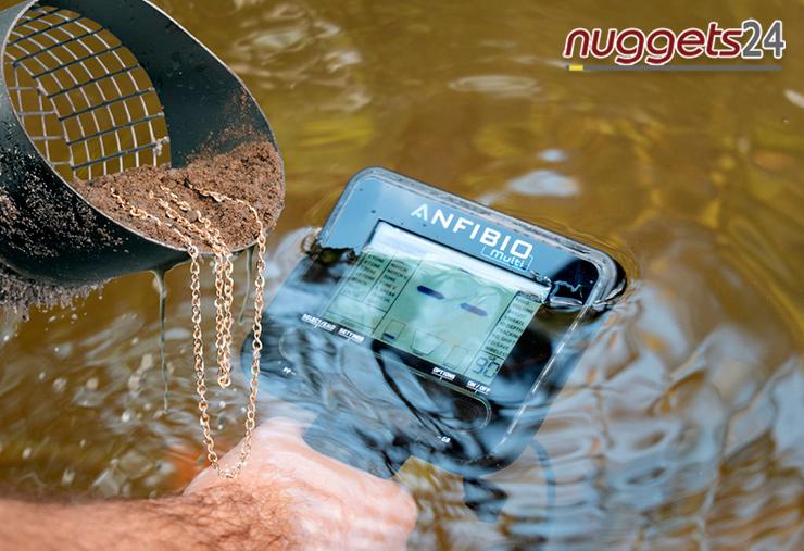 Nokta Makro Anfibio Unterwasser Schatzsucher Metalldetektor bei www.nuggets24.de