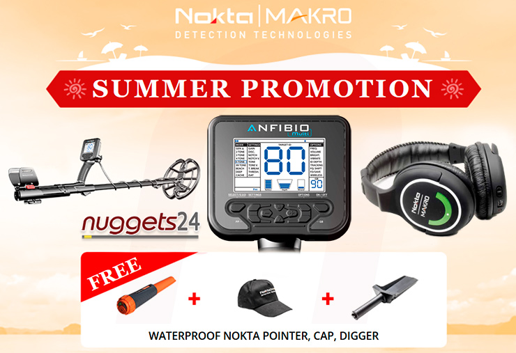 Nokta Anfibio Pro Package inklusive Gratis Nokta PinPointer bei www.nuggets24.de