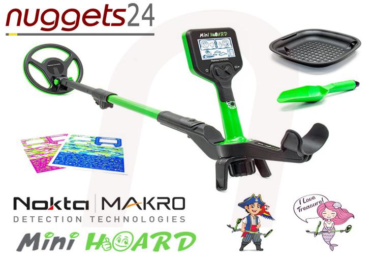 Nokta Makro Mini Hoard MiniHoard Kinder Detektor Metalldetektor