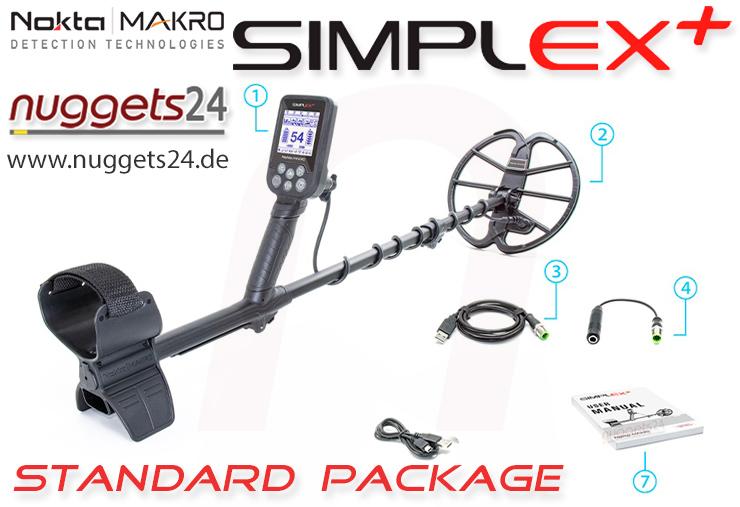 Simplex Nokta Makro Metalldetektor Metal Detector nuggets24com Metalldetektor Shop