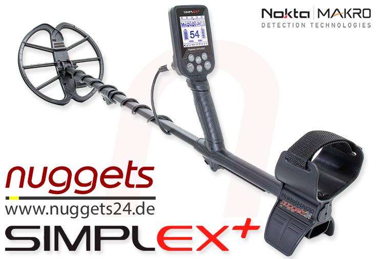 Nokta SIMPLEX Metalldetektor bei nuggets24.de