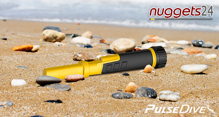 Pulse Dive PulseDive Unterwasser Duo PinPointer nuggets24com Metalldetektor OnlineShop Metal Detector
