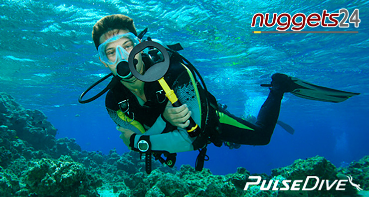 Unterwasser Pin Pointer plus Unterwasser Metalldetektor Nokta Pulse Dive bei nuggets24com
