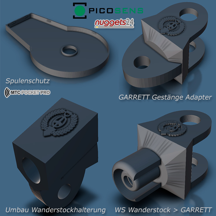 picosens MTC Pocket Pro Zubehör bei nuggets24.de zum 3D Drucker Selbstausdrucken copyright Stefan Wildhagen