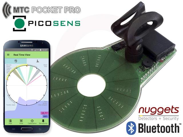 MTC Pocket Pro Metalldetektor bei nuggets24.de im Metalldetektoren Online Shop