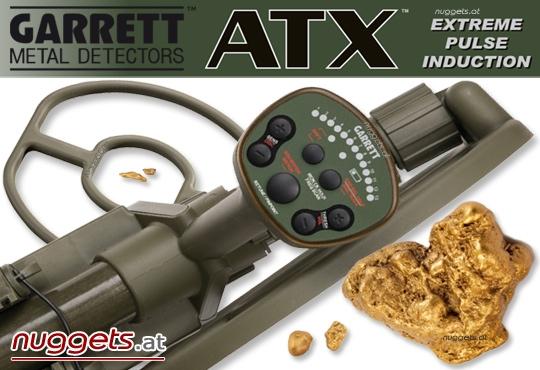 garrett atx pi pulsinduction gold metal detector der metalldetektor sondeng nger. Black Bedroom Furniture Sets. Home Design Ideas