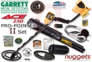 GARRETT ACE 150 Pro-Pointer II oder ProPointer AT DUO SET...