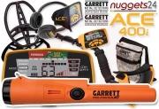 GARRETT ACE 400i ACE400i Metalldetektor inklusive...