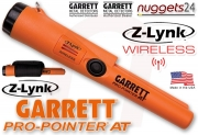 GARRETT AT MAX ATMAX + Pro Pointer AT Z-LYNK wireless FUNK DUO nuggets24...