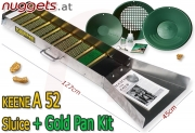 Keene A52 A 52 Sluice Gold Pan KIT Goldwaschrinne +...