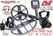 "MINELAB CTX 3030 Duo Coil Deep Pack 11""+17x13""..."