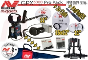 MINELAB GPX 5000 Pro Pack Gold Detector SET
