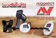 Minelab GoldMonster1000 Gold Metalldetektor DUO COIL...