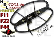 NEL Hunter Fisher F11 F22 F44 Coil Suchspule 8.5x12.5...