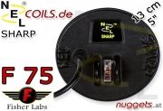 NEL Sharp Fisher F 75 F75 Coil Suchspule 13 cm 5""