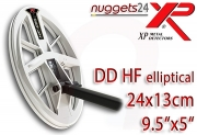 "XP DEUS 24 x 13 cm 9.5""x5"" Doppel D HF High..."