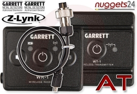 "GARRETT Z-LYNK 6,3 1/4"" + AT Wireless Funk Kopfhörer System AT PRO +..."