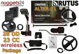RUTUS Alter 71 RA71 WIRELESS Funk Set Multi Frequenz Duo Coil DD CC 2...