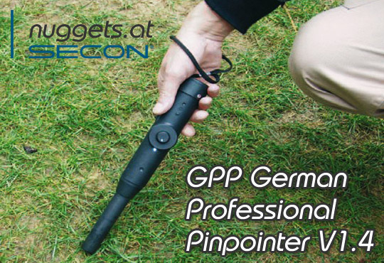 SECON GPP PinPointer made in Germany Online Shop www.nuggets.at