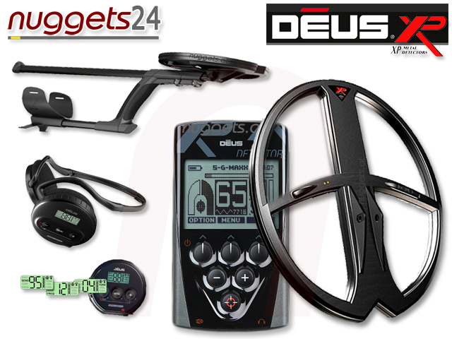 XP Deus DeepMax 28x34 Set www.nuggets24.de Metalldetektor Online Shop