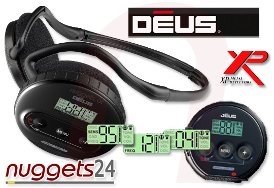 XP DEUS Metalldetektor www.nuggets24.de OnlineShop ShowRoom GratisVersand