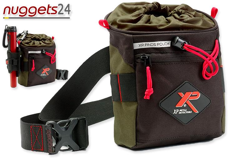 XP Fundtasche für Metalldetektor Schatzsuche bei nuggets24de