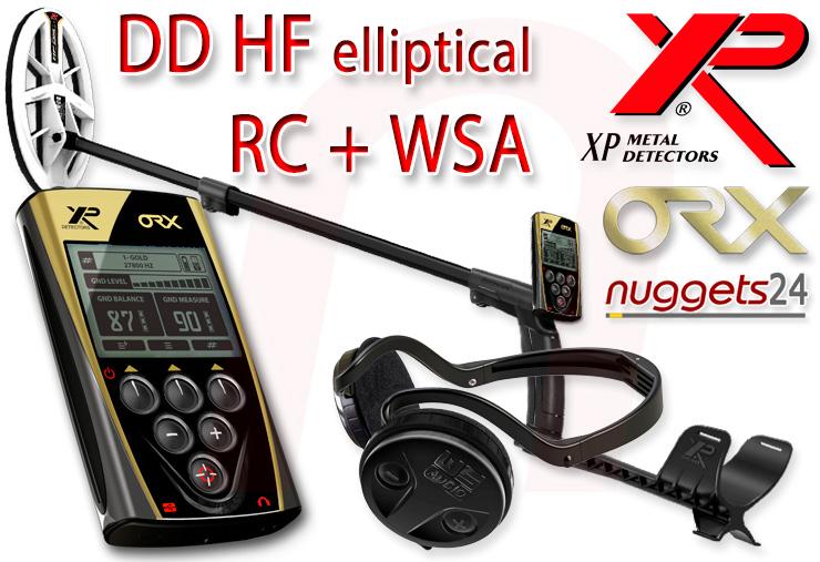 XP ORX Metalldetektor bei nuggets24 im Schatzsucher Shop für Sondengänger sofort lieferbar