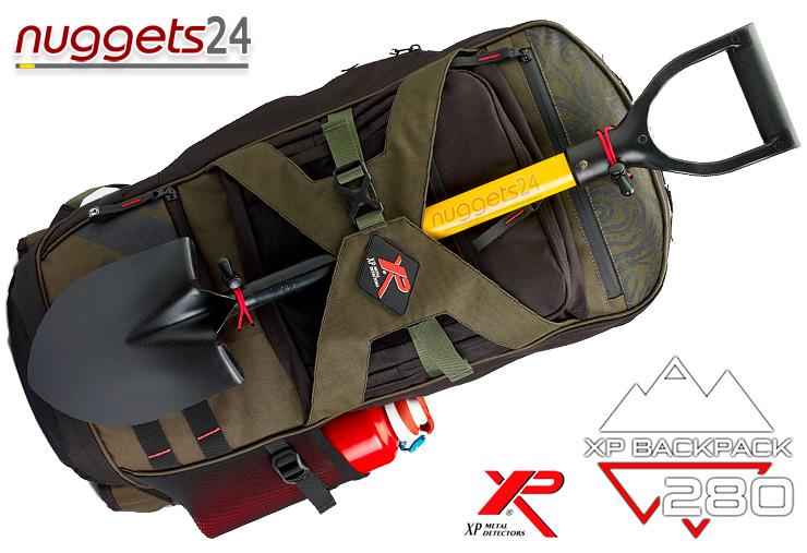 XP Backpack Metal Detector Metalldetektor Rucksack für Schatzsucher nuggets24com