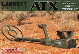 GARRETT ATX PI DeepSeeker Package Pulsinduction GOLD Metal Detector Metalldetektor