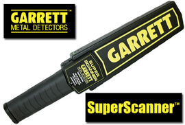 GARRETT SuperScanner Hand Security Detektor Metalldetektor