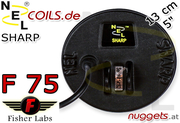 NEL Sharp Fisher F 75 F75 Coil Suchspule 13 cm 5