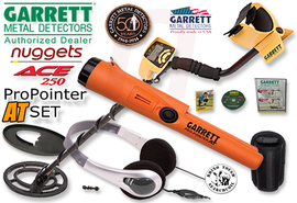 GARRETT ACE 250 Pro-Pointer AT wasserdichter PinPointer Metalldetektor DUO SET