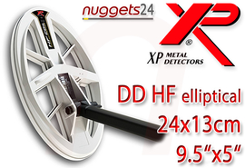XP ORX ELLIPTICAL 24x13 RC WSA Metalldetektor Premium Set