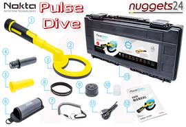 Nokta PulseDive Pulse Dive Scuba Pin Pointer Metalldetektor