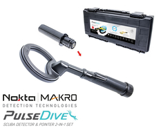 Nokta PulseDive Pulse - schwarz - black - Dive Scuba Pin Pointer Metalldetektor