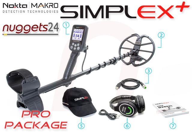 NoktaMakro Simplex Metalldetektor Metallsuchgerät Metallsonde Detektor